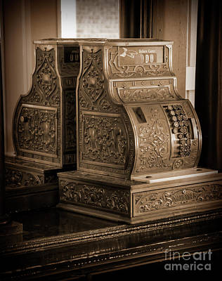 Photograph - Cash Register by Kirt Tisdale