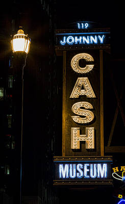 Nashville Sign Photograph - Cash by Stephen Stookey