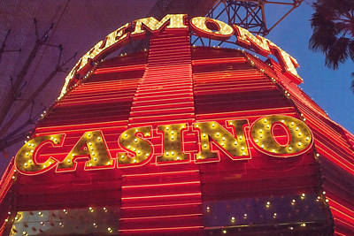 Block Party Photograph - Casino by Art Block Collections