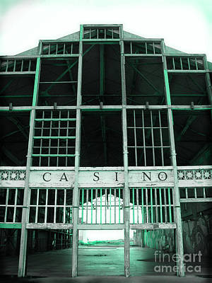By Colleen Kammerer Photograph - Casino by Colleen Kammerer