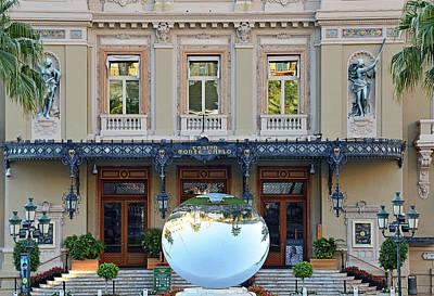 Photograph - Casino De Monte Carlo by Harvey Barrison