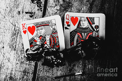 Playing Cards Photograph - Casino Hot Streak  by Jorgo Photography - Wall Art Gallery