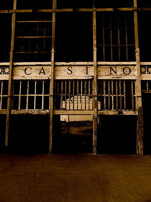 Asbury Park Photograph - Casino by Joe  Burns