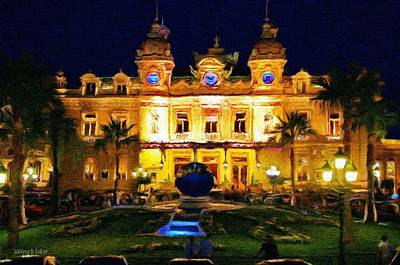 Painting - Casino Monte Carlo by Jeffrey Kolker