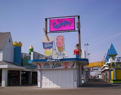 Casino Pier At Seaside Nj Original by Bob Palmisano