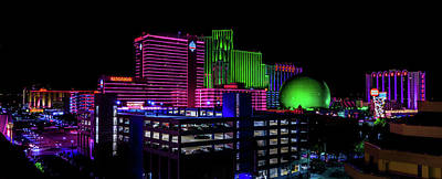 Photograph - Casinos by TL Mair