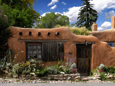 Photograph - Casita De Santa Fe by Kurt Van Wagner