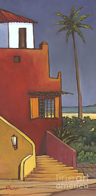 Spanish House Painting - Casita I by Paul Brent