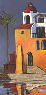 Spanish House Painting - Casita II by Paul Brent