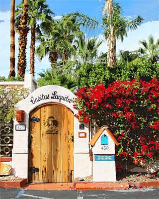Casita Photograph - Casitas Laquita Palm Springs by William Dey