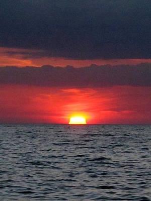Photograph - Caspersen Beach Sunset  by Chris Mercer