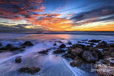 Photograph - Casperson Beach Sunset 3 by Ben Graham