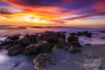 Photograph - Casperson Beach Sunset by Ben Graham