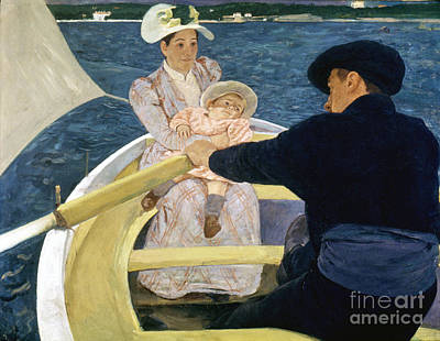 Photograph - Cassatt: Boating, 1893-4 by Granger