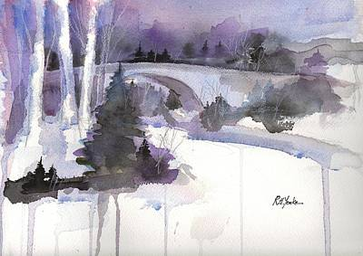Casselman In Winter Original