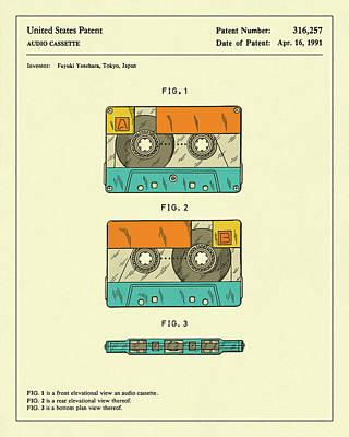 Cassette Tape 1991 Art Print