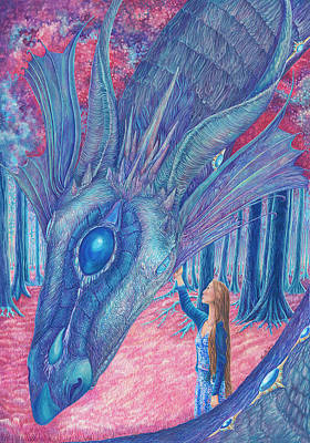 Cassie And Segwyn Meet In The Cosmic Forest Original