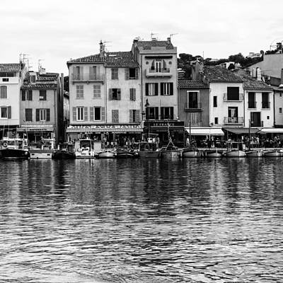 Cassis - French Seaside Town - Square Art Print