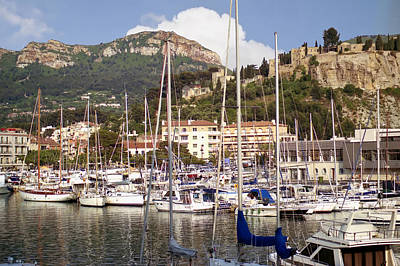 Digital Art - Cassis Harbor by Gene Norris