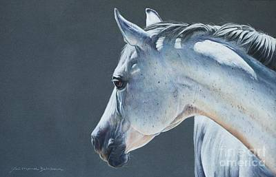 Gray Mare Pastel - Cassi's Mare by Joni Beinborn