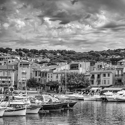 Cassis - South Of France - Square Art Print by Georgia Fowler
