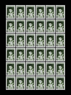 Cassius Clay World Champion Stamp Print by Mark Rogan