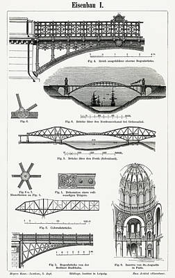 Drawing - Cast Iron Architecture by Unknown