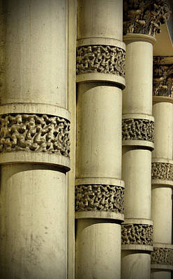 Photograph - Cast Iron Columns by Cate Franklyn