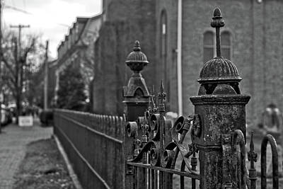 Photograph - Cast Iron Fence by Victor Wiebe
