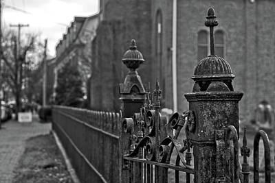 State Love Nancy Ingersoll - Cast Iron Fence by Victor Wiebe