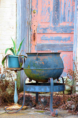 Photograph - Cast Iron Pot by Jan Amiss Photography