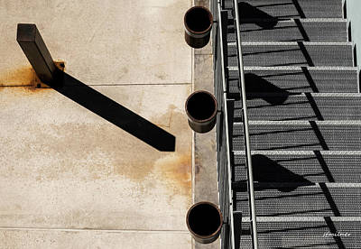 Photograph - Cast Long Shadows by Steven Milner