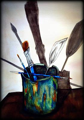 Cast Shadows Art Print by Colene Milligan