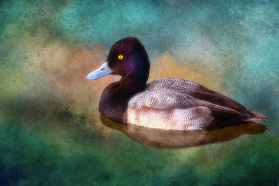 Cast Your Duck Upon The Water Art Print by Joan Bertucci