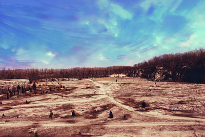 Photograph - Castalia Quarry Reserve Dreamscape by Shawna Rowe