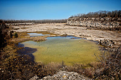 Photograph - Castalia Quarry Reserve by Shawna Rowe