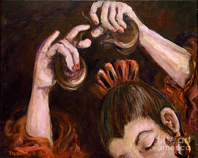Painting - Castanets by Deborah Smith