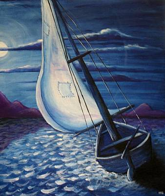 Painting - Castaway by Mandy Elliott