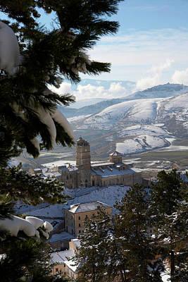 Castel Del Monte Abruzzo Italy Art Print by Tom  Doherty
