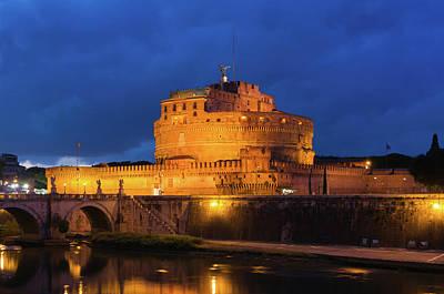 Photograph - Castel Sant Angelo by Jebulon
