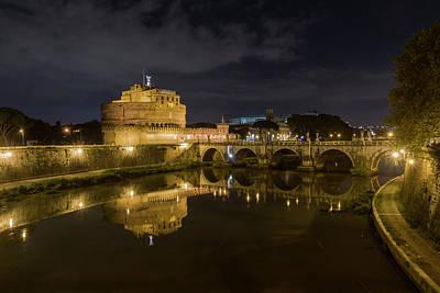 Photograph - Castel Sant Angelo by Pietro Ebner