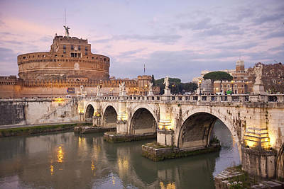 Castel Sant'angelo Art Print by Andre Goncalves