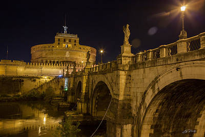 Photograph - Castel Sant'angelo by Ed Cilley