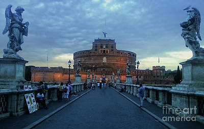 Photograph - Castel Sant'angelo by Gregory Dyer