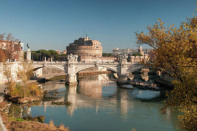 Photograph - Castel Sant' Angelo by Jeremy Voisey