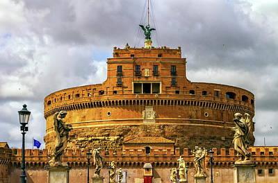 Photograph - Castel Sant'angelo Or Mausoleum Of Hadrian, Rome, Italy by Elenarts - Elena Duvernay photo