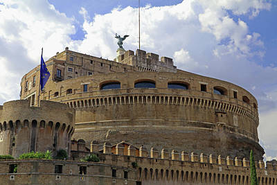 Photograph - Castel Sant'angelo by Tony Murtagh