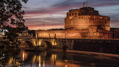 Photograph - Castel St Angelo  by John McGraw