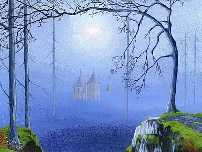Wall Art - Painting - Castell Coch  by Hayley Buchanan