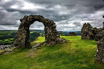 Photograph - Castell Dinas Bran, Llangollen, North Wales by Mickey Stellavato
